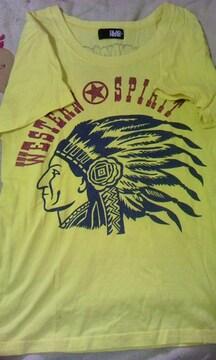 130cm半袖Tシャツ黄色