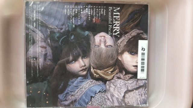 MERRYアルバムCD『Beautiful Freaks』 < タレントグッズの
