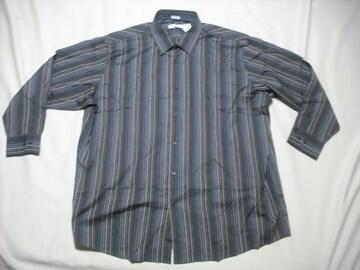 男 CALVIN KLEIN カルバンクライン 長袖シャツ 4XLサイズ