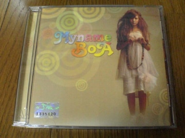 BOA CD MY NAME 4集 ボア 韓国K-POP