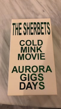 ★シャーベッツ★ビデオ★COLD MINK MOVIE★AURORA GIGS DAYS