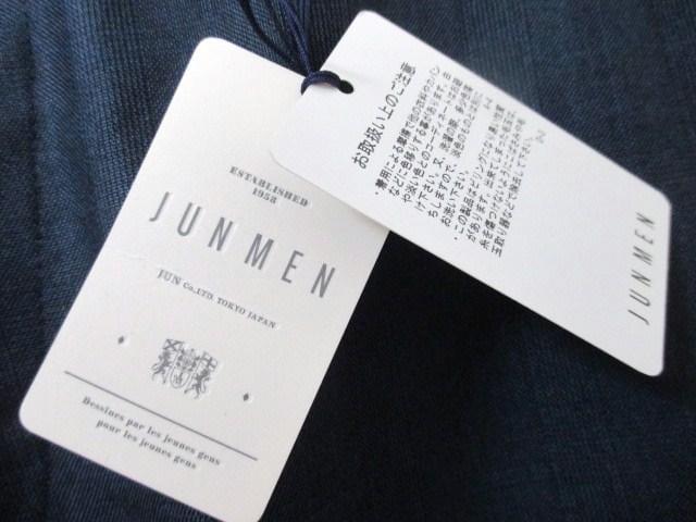 ☆JUNMEN/ジュンメン ビジネス スラックス/パンツ/メンズ/M☆新品 < ブランドの