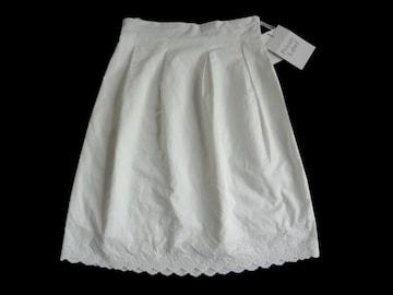 新品 定価15750円 プライベートレーベル 膝丈 スカート S 7