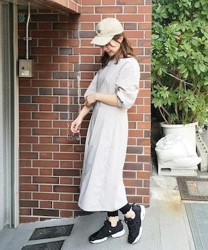 hako7分袖ワンピース