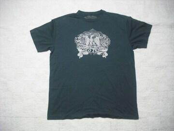 82 男 ラルフローレン 黒 半袖Tシャツ L