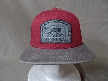 バンズ【VANS】CALIFORNIA ORIGINALワッペン刺繍CAP