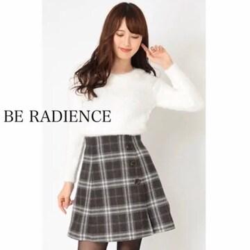 美品☆ BE RADIENCE  ビーラディエンス チェック スカート
