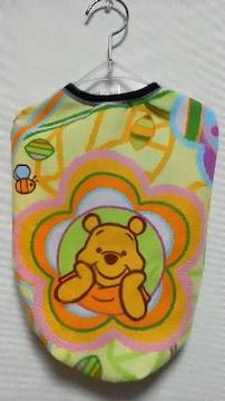 ハンドメイド*プーサンTシャツ*黄色・ボーダー・大柄・ディズニー・犬用*3L