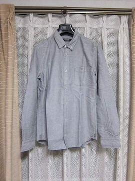 バーバリーブラックレーベル ホースマーク刺繍オックスフォード長袖シャツ