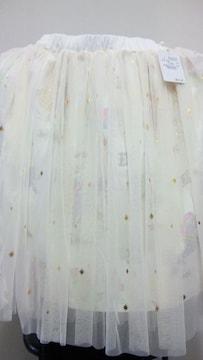完売 ディズニー TDL TDS プリンセス 姫 チュール スカート ラプンツェル ホワイト