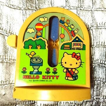 1976年 キティ 砂時計 サンリオ 初期 当時物 昭和レトロ 砂 時計
