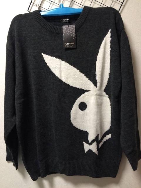 【PLAYBOY】プレイボーイ・レディース『セーター』新品タグ付 < ブランドの