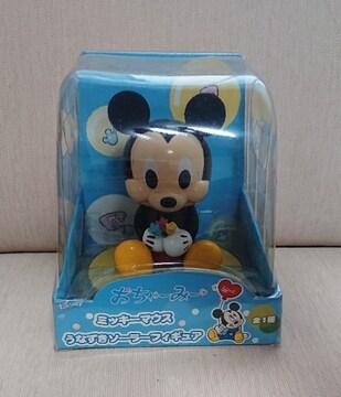 ミッキーマウス   うなずきソーラーフィギュア