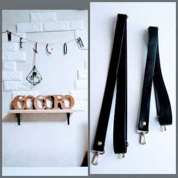 handmade別売 合革 3way リュック&ボディー&ショルダー紐 調節可能 ゴールド