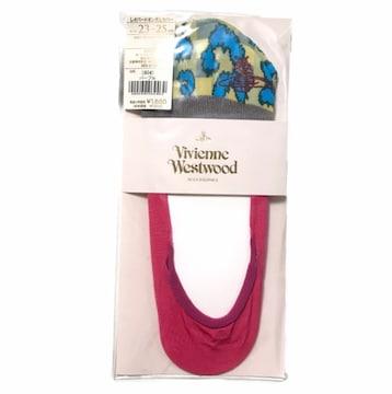 VivienneWestwoodフットカバー靴下(ピンク)新品