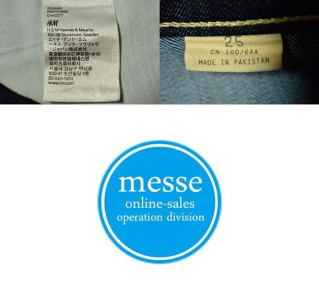 H&M(エイチ・アンド・エム)スリムスキニーW25(75cm)股下70cm < ブランドの
