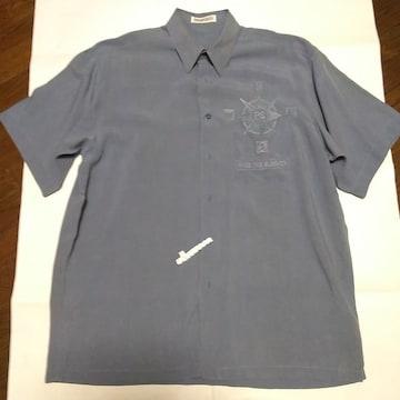 ピアスポーツ PIASPORT テンセル 100% 半袖 ドレスシャツ