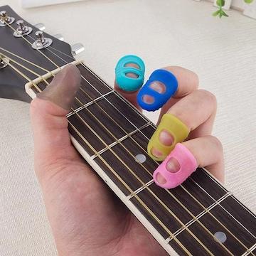 お試し★超人気 指先保護 20個セット ギターバイオリン激痛対策