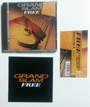 (CD)GRAND SLAM/グランドスラム☆FREE★帯付き♪即決価格♪