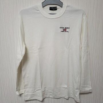 150cm USA ピーチ起毛加工 ロンT Tシャツ