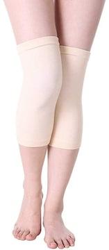 鍼灸師が開発した 膝サポーター 両足セット(ホワイトベージュ)