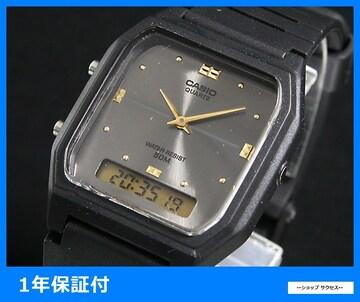 新品 即買い■カシオ アナデジ 腕時計 AW48HE-8A