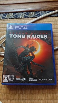 PS4用 トゥームレイダ—  中古  送料込み