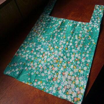 レジ袋型エコバッグ(手作り・手縫い)