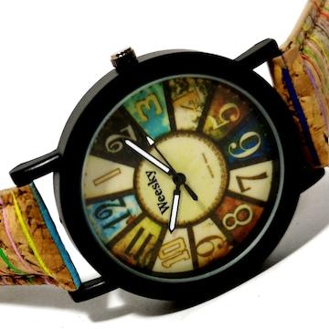 【新品・未使用】WEESKY お洒落で可愛いユニセックス腕時計