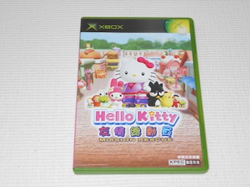 xbox★HELLO KITTY MISSION RESCUE 海外版