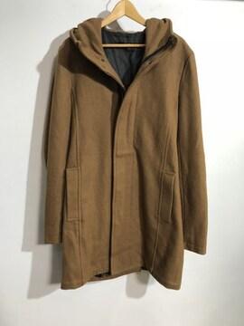 NO ID. ノーアイディー フーデッド ロング コート ジャケット
