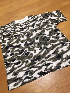 MUJI-ARMY Tシャツ  迷彩柄  サイズ2XL   �A新品未使用