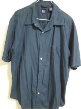 GAP シンプル紺シャツ