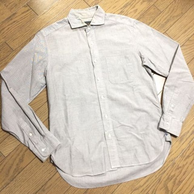 美品BEAMS シャンブレーシャツ 日本製 ビームス  < ブランドの