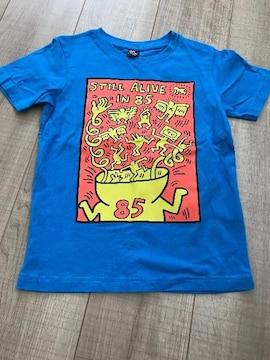 UNIQLOkids半袖Tシャツ120キース美品