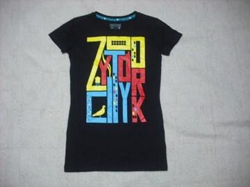 81 女 ZOO YORK ズーヨーク 黒 Tシャツ S