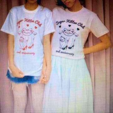 非売品ノベルティ・RoseMarieseoir・ブランドロゴTシャツ。