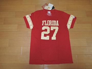 新品TMT×ChampionカットソーM赤ナンバリングTシャツ