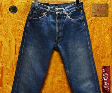 ◆廃盤◆米国製リーバイス501・W29(74cm)・股下78cm