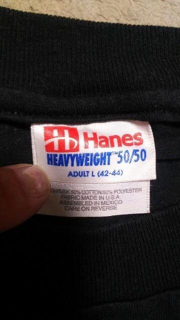 超稀少Hanes USA製  Tシャツ L < 男性ファッションの