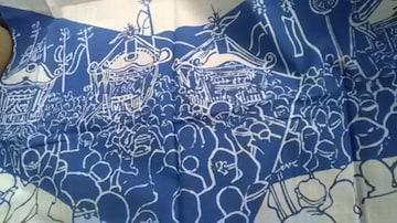 てぬぐい、神奈川県無形文化財浜降祭手拭い新品