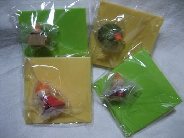 リトルミィ フィギュア付き爽専用オリジナルフタ 4種 ムーミン