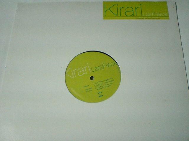 即決! 希良梨Kirari&m-flo「Last Piece」限定アナログ盤 GTO  < CD/DVD/ビデオの