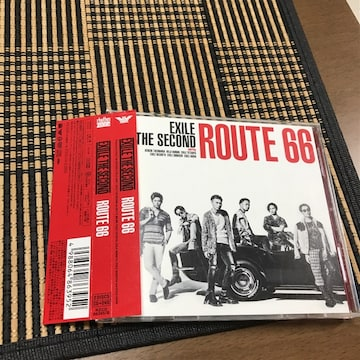 ROUTE66初回限定CD+DVD帯つきEXILE the second美品