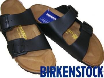 ビルケンシュトック新品アリゾナ黒 ARIZONA051793BL38