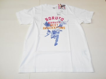 UNIQLO BORUTO NARUTO NEXT GEERATIONS ホワイト 150サイズ