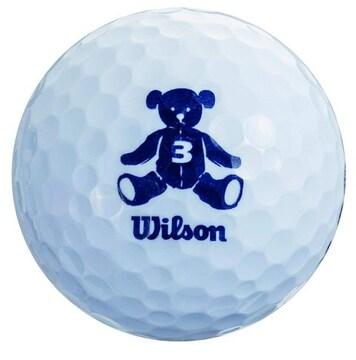 ゴルフボール BEAR3 1ダース 12個入り ホワイト