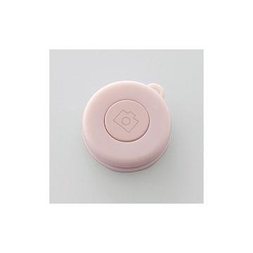 ★ELECOM ワイヤレスリモコン スマホシャッターリモコン ピンク