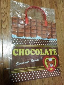新品 スイマー チョコレートショッパー ビニール袋 swimmer