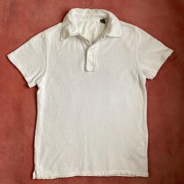 NAPAPIJRI(ナパピリ) パイル地ポロシャツ XSサイズ ホワイト